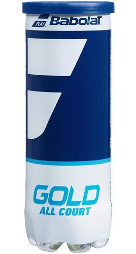 Imagen 1 de 6 de Tubo Pelotas Babolat Gold - Tenis Padel  - Alta Performance