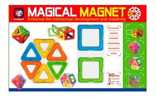 Bloques Magnéticos 20 Pcs 1372761 Shine Envio Full