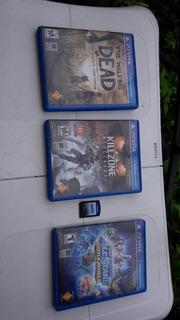 Combo 4 Juegos Para Psp Vita Killzone Mercenary
