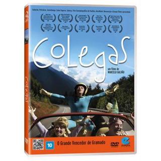 Dvd Colegas Filme De Marcelo Galvão