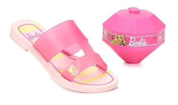 Tamanco Grendene Barbie Surprise 11/2018 Rosa