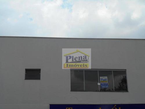 Sala Comercial Para Locação, Vila Azenha, Nova Odessa. - Sa0134