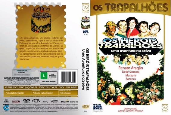 Dvd Os Herois Trapalhões-uma Aventura Na Selva-renato Aragão