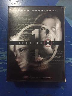 Dvd Box Arquivo X-primeira Temporada Completa Ed Colecionar
