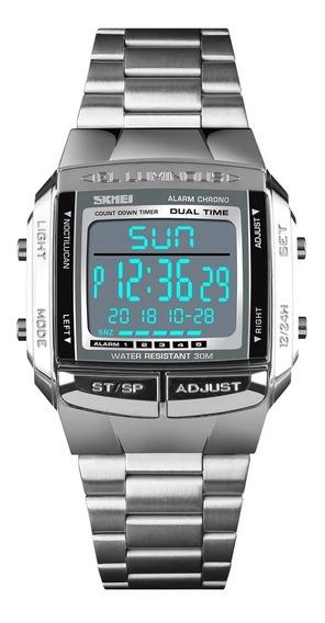 Relógio De Marca Original Skmai Aprova D