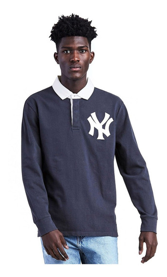 Polo Levi´s ® Hombre Mlb Yankees Rugby Solid