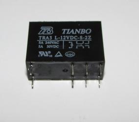 30x 109660 - Relê 12v Duplo 2na 2nf Tianbo