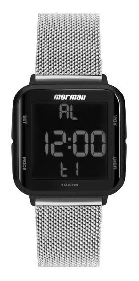 Relógio Mormaii Unissex Digi Preto Mo6600ag/8k