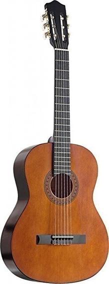 Guitarra Clasica 4/4 Tapa De Pino Trastes Alpaca Stagg C546