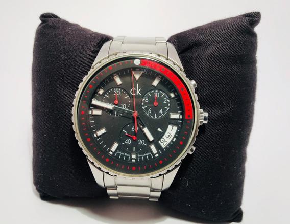 Relógio Cronógrafo Calvin Klein K32174 De Quartzo