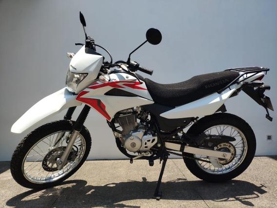 Moto Honda Xr150 2019, Blanca, Menos De 1000 Kmts