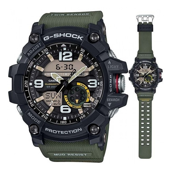 Relógio Casio G-shock Gg-1000-1a3dr Mudmaster Novo