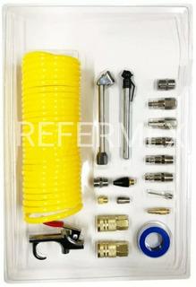 Kit De Accesorios Neumáticos Para Compresor De Aire Con 19 P