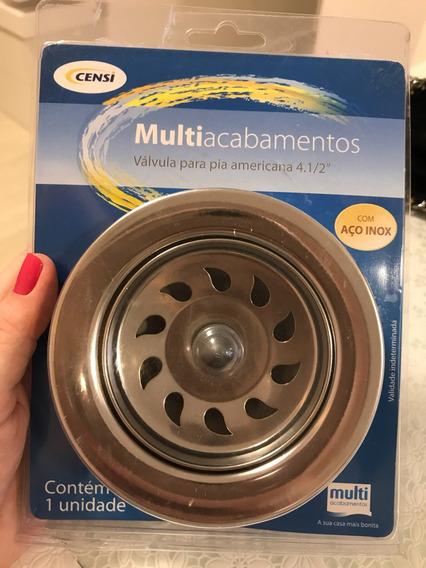 Valvula Para Pia De Cozinha 4.1/2
