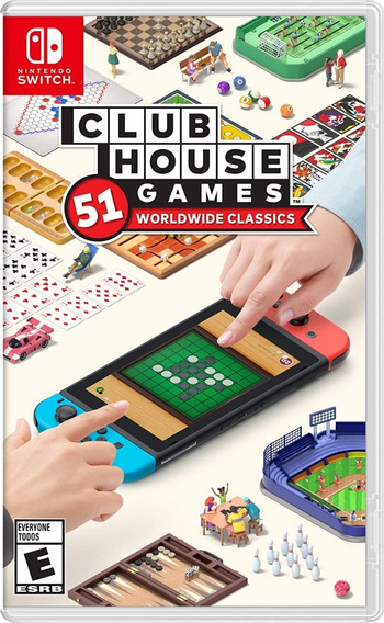 ..:: Clubhouse Games ::.. Para Nintendo Switch Game Center