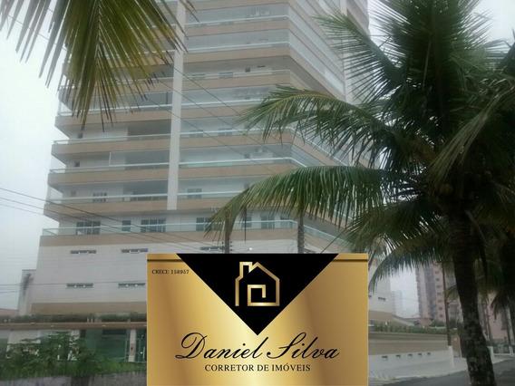Apartamento Frente Para O Mar 3 Dormitórios Financia Direto