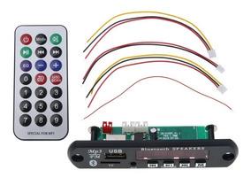 Placa Modulo Usb Mp3 Bluetooth