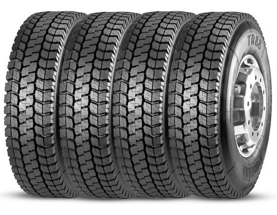 Kit 4 Pneu Pirelli Aro 22.5 295/80r22.5 152/148m Borrachudo