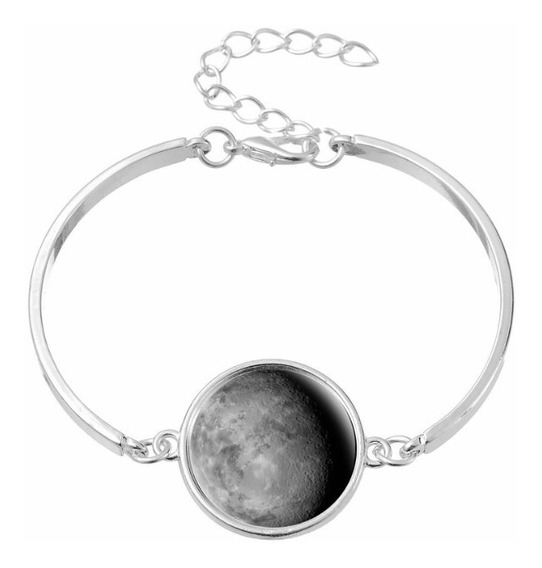 Pulsera Luna Llena Brilla En La Obscuridad Moonlight