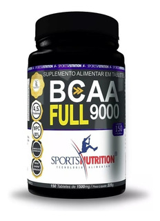 Bcaa 9000 Full 150 Tabletes Sports Nutrition
