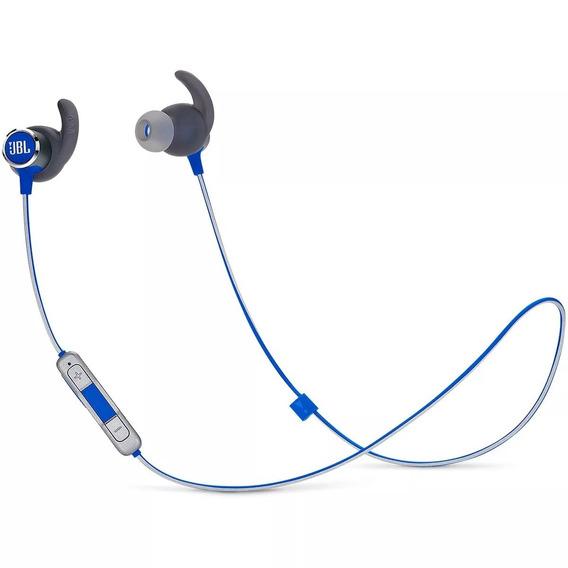 Fone De Ouvido Jbl Reflect Mini 2 Esportivo Bluetooth Azul