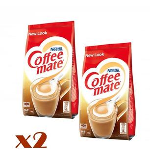 2kg Creme P/ Café Coffe Mate Nestlé 1kg Val 2021
