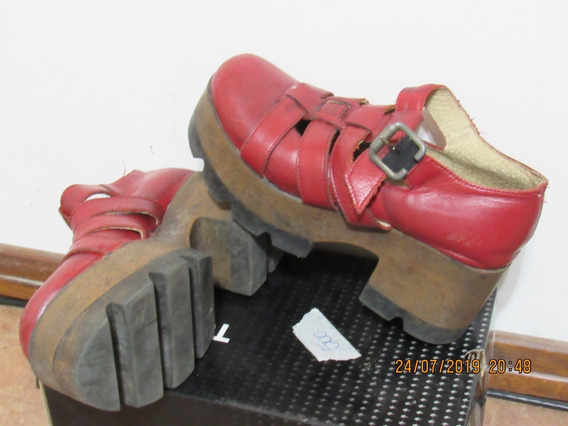 Zapatos Para Niña Tipo Suecos En Excelente Estado