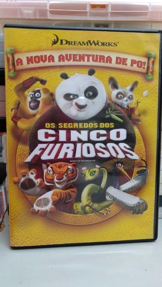 Dvd Os Segredos Dos Cinco Furiosos , A Nova Aventura De Po!