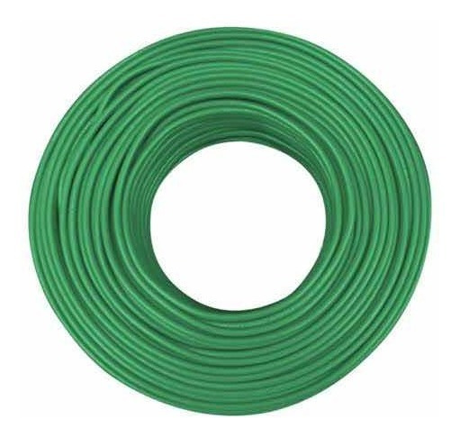 Cable Condulac Thw-is/thhw Si 90° Verde #12 Awg 100 Mtrs