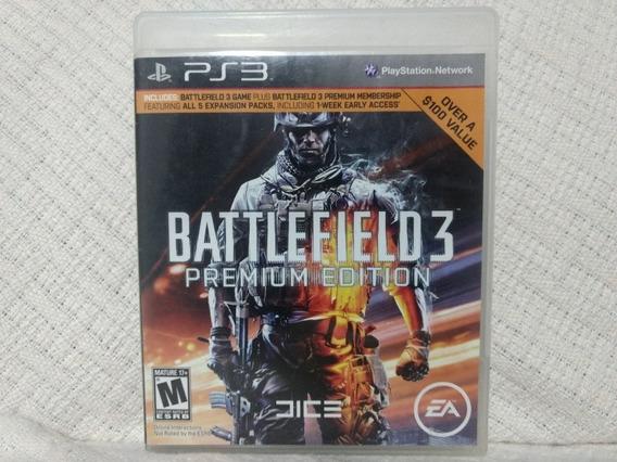 Jogo Ps3 Battlefield 3 Premium Edition Mídia Física