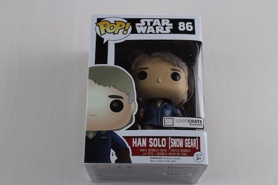 Funko Pop! Han Solo Star Wars Ojo! Caja Con Detalle Estetico