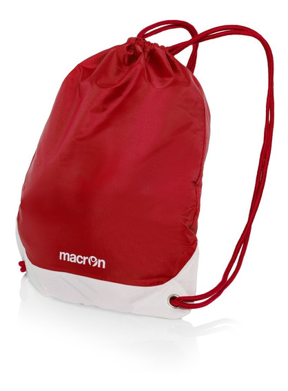 Gym Sack Rojo- Mochila Para Gimnasio Y Botines- Macron