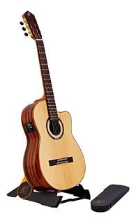 Base Stand Guitarra Bajo Ukulele De Piso Plegable Ortega