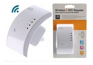Repetidor Amplificador De Sinal Wifi 300mbps Botão Wps Novo
