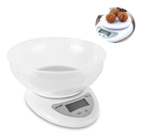 Balanza Digital + Bowl Medidor Para Reposteria