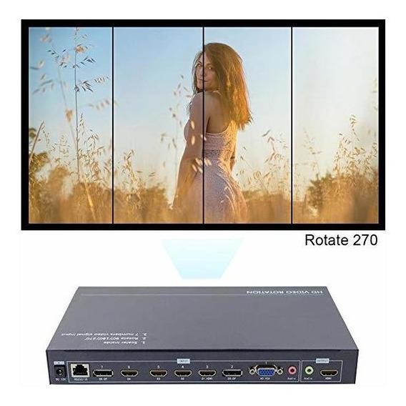 Link-mi Tn701 Hdmi Vga Dp Entradas Switch Hd Video Upscali ®