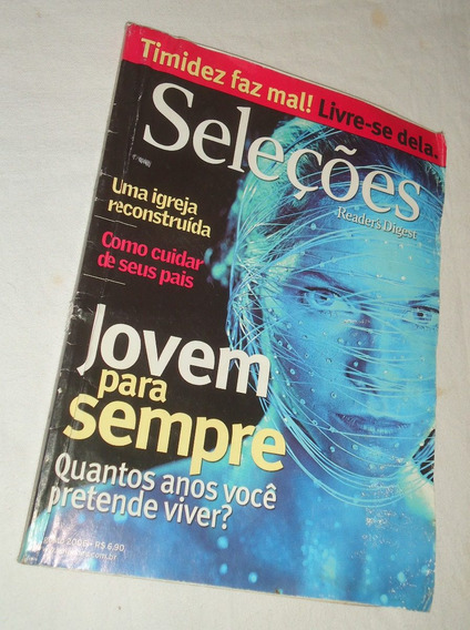 Revista Seleções Readers Digest Agosto 2006 Jovem Para Sempr