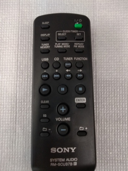 Controle Original Sony Rm-scu37b