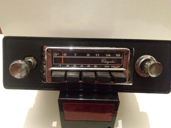 Rádio Antigo Crisler Tudo Ok Funcionando Tudo Revisado