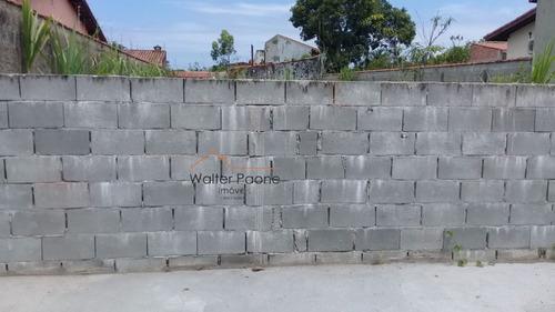 Terreno A Venda No Bairro Cibratel Ll Em Itanhaém - Sp.  - Wta339-1