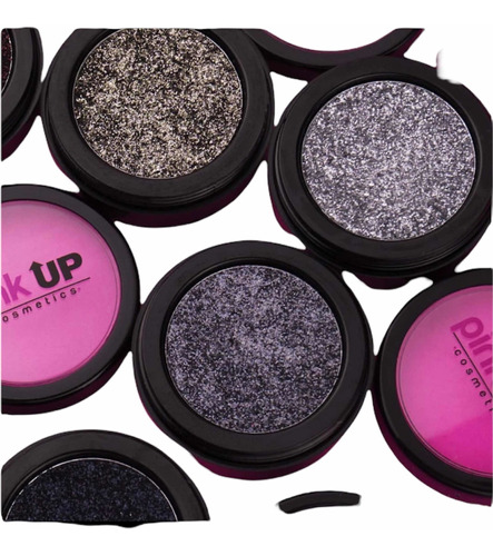 Imagen 1 de 5 de Glitter Pink Up Original Para Rostro, Uñas Y Cuerpo