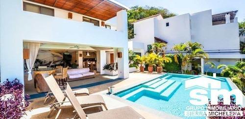 Villa Lu Iba En Venta En Huatulco, Tangolunda (oax-153)