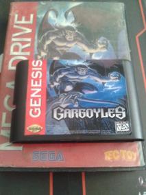 Gargoyles Mega Drive Jogo Clássico Com Case