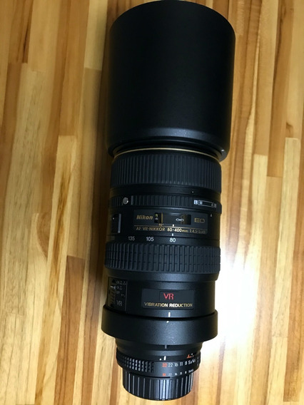 Nikon 80-400mm 4.5f
