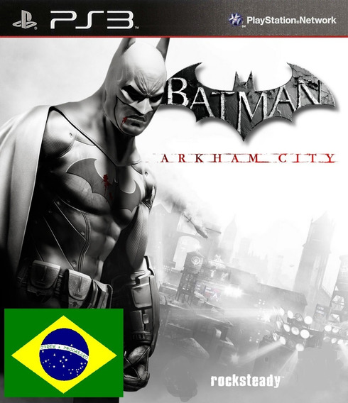 Batman Arkham City Psn Ps3 Envio Imediato