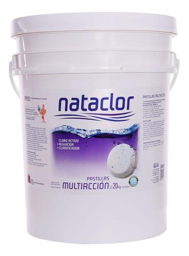 Cloro En Pastillas Nataclor Multiacción 200gr X 20kg