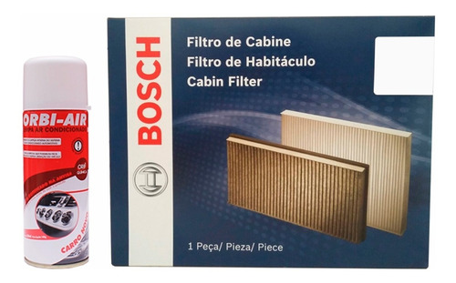 Imagem 1 de 1 de Filtro Ar Condicionado Ford Fusion 2.0 2013 + Orbi Air