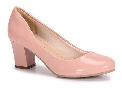 Sapato Salto Quadrado Facinelli