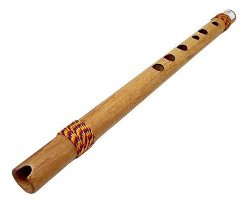 Quena Colombiana Bambú Flauta Artesanal Afinación G Sol Prof