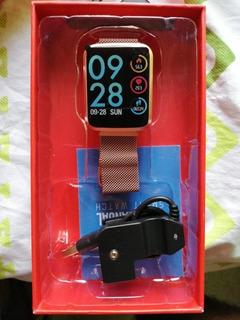 Relógio Inteligente Alfawise H19 Oxigênio Pressão Sanguínea